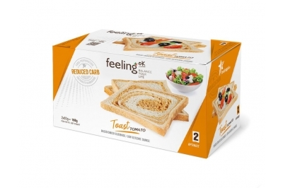 Feeling OK Toast tomato