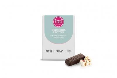 Proteïne Nougat chocolade reep