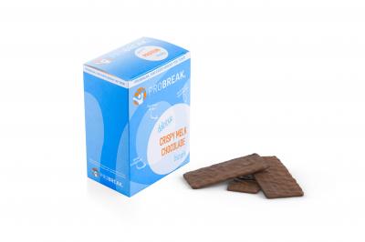 ProBreak crispy biscuit Melkchocolade