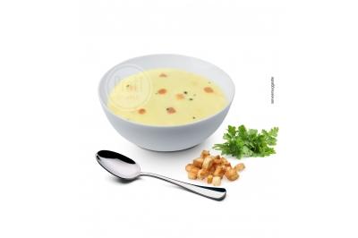 Proteïne soep Kipsmaak met croutons