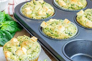 proteine dieet recept hartige muffins