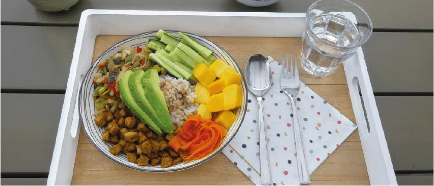 Recept eiwitrijke poké bowl