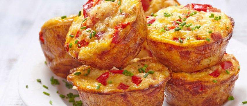 Recept koolhydraatarme ontbijt muffins