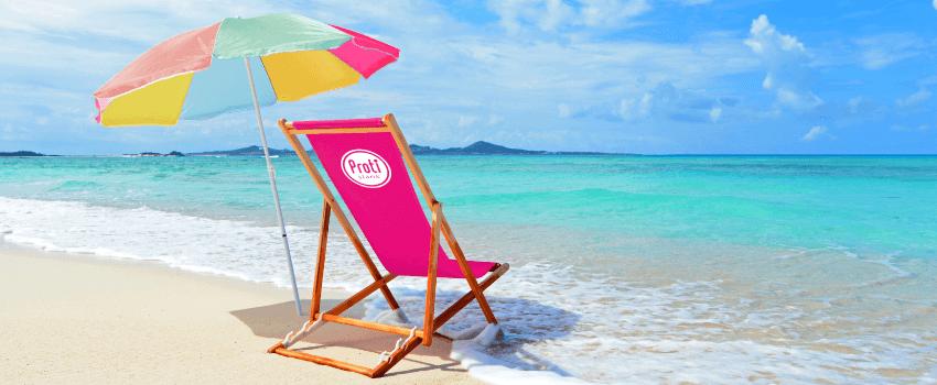 Het proteïnedieet volgen tijdens vakantie